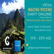 Virtual Machu Picchu Charity Challenge